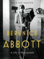Book Jacket for: Berenice Abbott : a life in photography